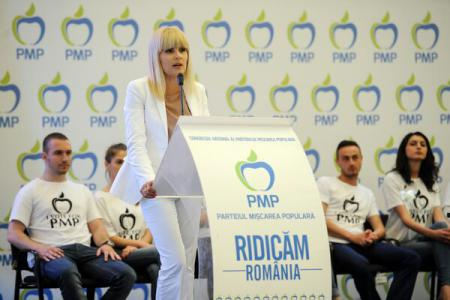 Elena Udrea: PMP to back single candidate of Right only if he is Cristian Diaconescu