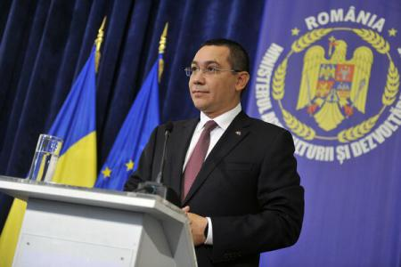 PM Ponta says glad when criticized by Moscow for wishing Moldova to be in EU