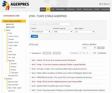 AGERPRES launches new customer web interface