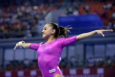 Romanian artistic gymnast Iordache becomes world's all-around vice-champion