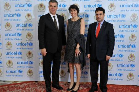 UNICEF gala at Parliament Palace raises funds for vulnerable children