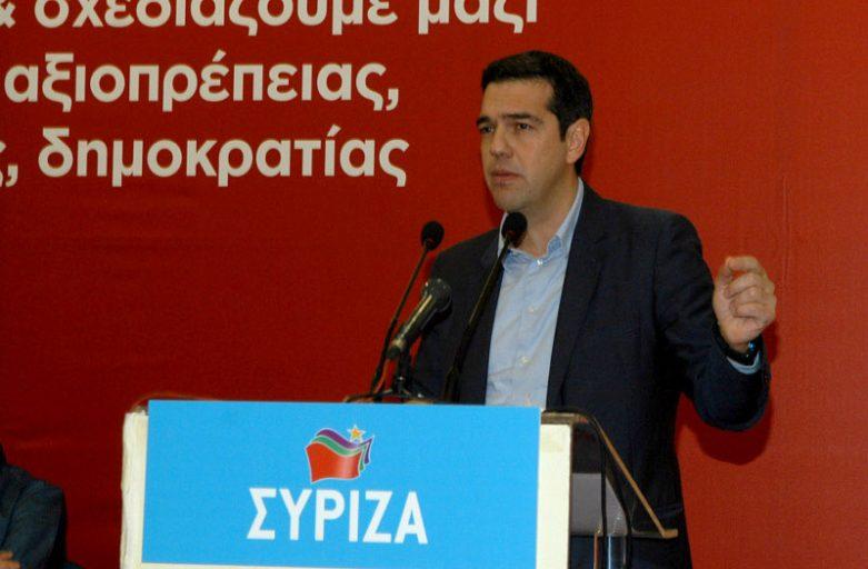 SYRIZA leader Tsipras sternly attacks PM Samaras