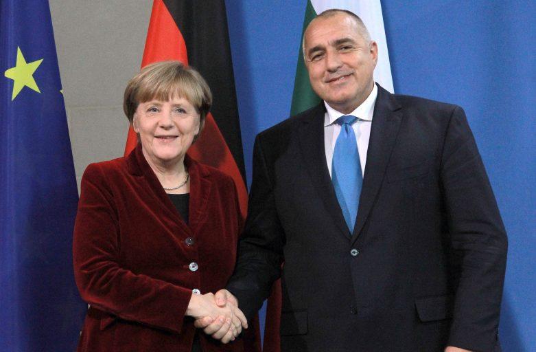 PM Borissov, German Chancellor Merkel Discuss South Stream
