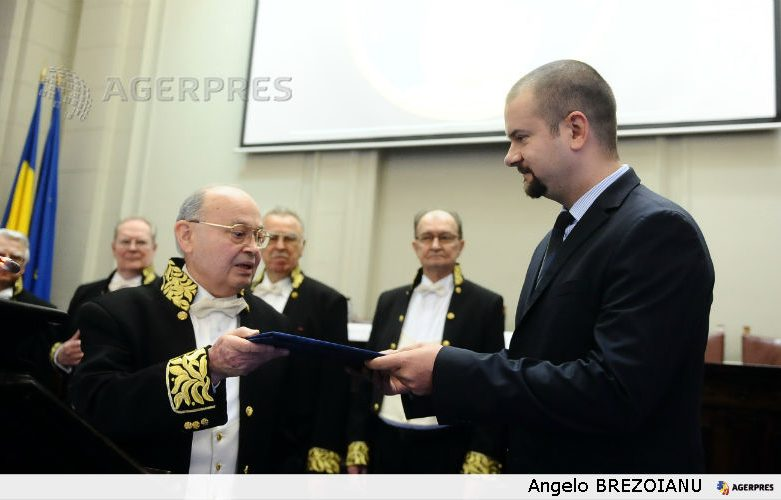 AGERPRES receives Cultural Distinction Diploma from Romanian Academy