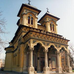 DESTINATION: ROMANIA Alexandria city's majestic St. Alexander Cathedral, adorned with paintings by Stefan Luchian