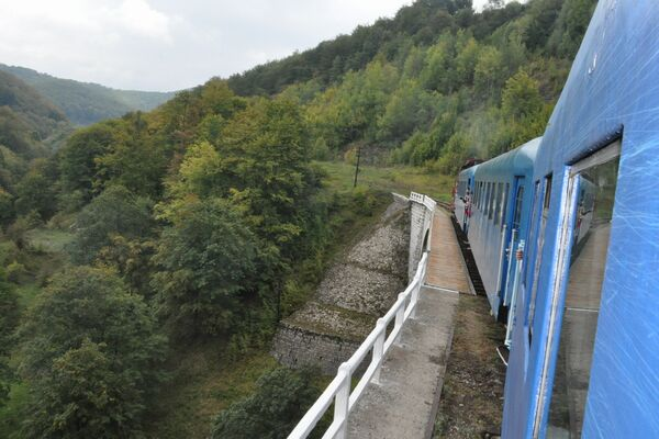 DESTINATION: ROMANIA The oldest mountain railway in Romania, dating back to the time of Austrian Empire