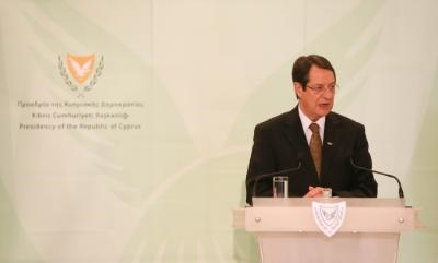 Cyprus turns new page in 2015, says President