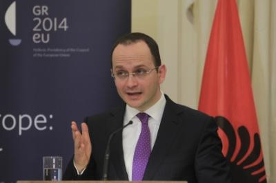 Albanian FM expresses support to a Cyprus settlement