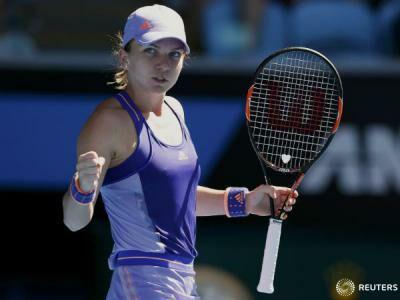 Tennis: Simona Halep qualifies to Australian Open quarterfinals