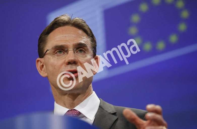 EU's Katainen urges Greece to stick to reforms