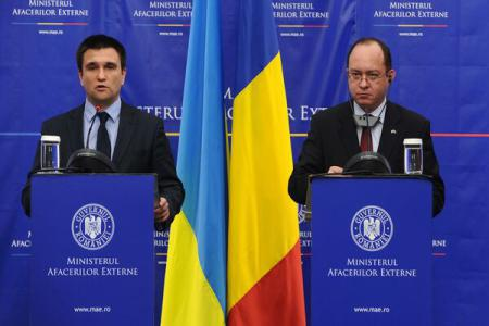 Romania, Ukraine govt's to hold joint sitting as agreed by ForMins Aurescu, Klimkin