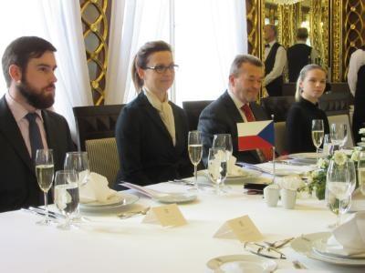 House Speaker wraps up visit to Czech Republic