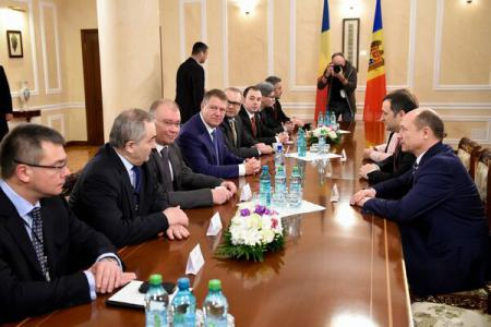 President Iohannis meets leaders of pro-European parties of Republic of Moldova