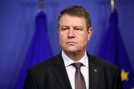 President Klaus Iohannis, on an official visit to France