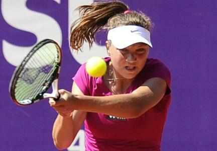 Tennis: Patricia Tig, in the finals of ITF Tournament of St. Petersburg