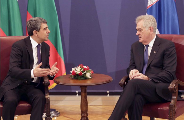 Presidents of Bulgaria, Serbia Discuss Transport and Energy Connections Between Their Countries