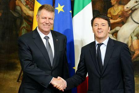 Renzi reconfirms Italy's support for Romania's accession to Schengen (sources) 28 Apr 2015, 13:32  •  ENGLISH