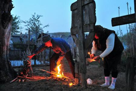 Maundy Thursday traditions in southern Romania