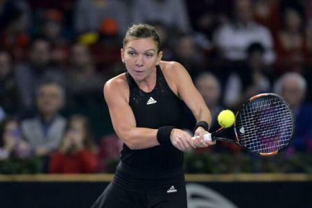 Romania's Halep advances to the semi-finals of the Miami Open 2015 WTA tennis tournament
