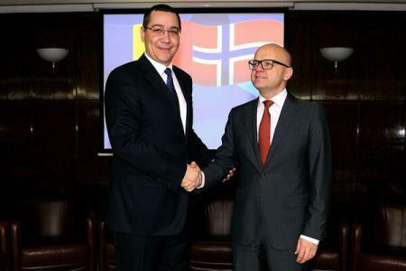 PM Ponta welcomes Norwegian minister in charge with EEA and European affairs