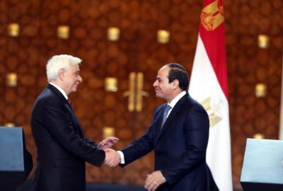 Greek President praises cooperation between Greece, Egypt and Cyprus