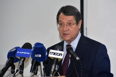 Cyprus President hopeful but not over-optimistic for a solution