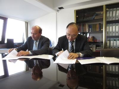 CNA and XINHUA sign Picture Marketing Agreement