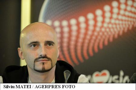 Voltaj's lead vocalist happy to sing Romanian in Eurovision Song Contest final