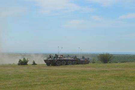 """Platinum Eagle"" annual training module taking place until May 28 at Babadag firing range"