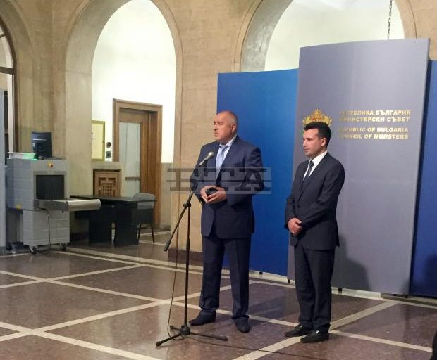 PM Borissov Meets with Macedonian Opposition Leader Zaev