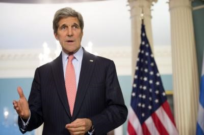 John Kerry reaffirms US support to Cyprus talks