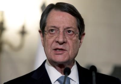 Cyprus President Anastasiades underlines positions of principles remain intact