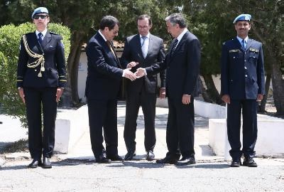 US hails the resumption of negotiations in Cyprus