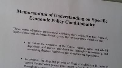 Troika to conclude sixth review of Cyprus' programme
