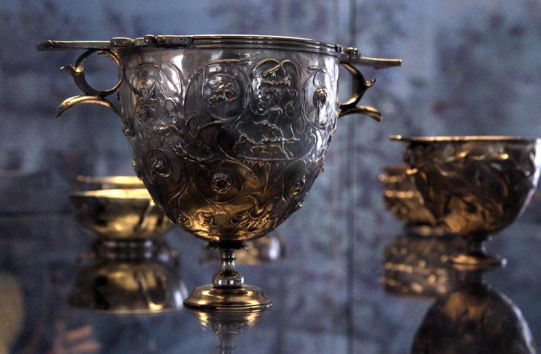 Unique Silver Treasure from Louvre in Sofia