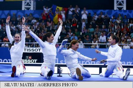 Baku European Games: Gold for Romania in epee women's, silver in sabre men's teams