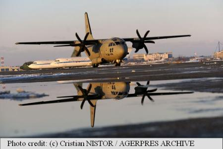Romanian troops participate in multinational drill European Air Transport Training, in Portugal