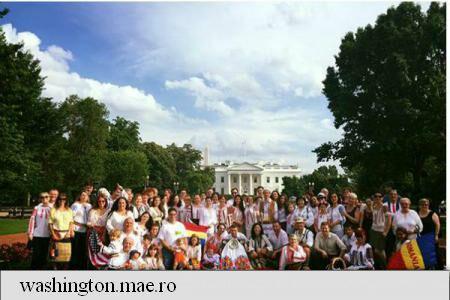 Universal Romanian Blouse Day celebrated in Washington DC