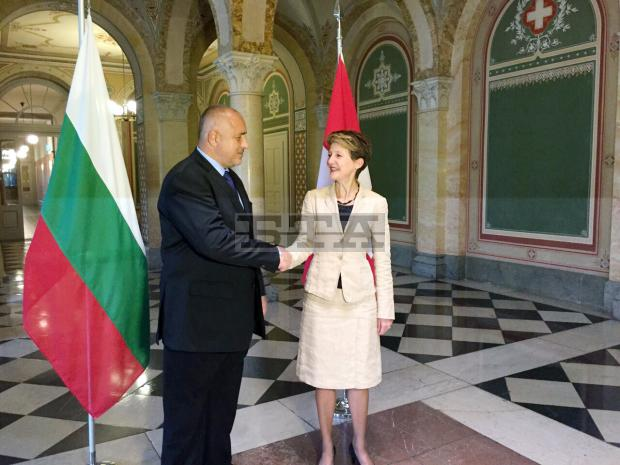 Bulgaria and Switzerland to Deepen Economic, Security Cooperation