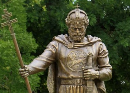 Monument to Tsar Samuel Unveiled in Sofia