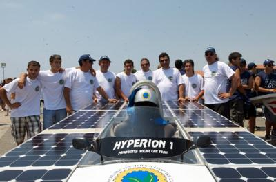 The Cyprus Institute Solar Car Challenge to be promoted overseas