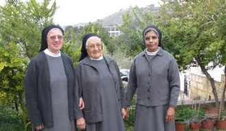 Pavoncella award 2015 for women creativity to four Nuns of Kormakitis Monastery