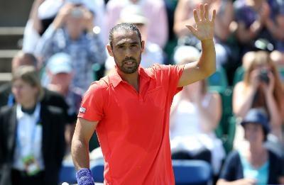 Marcos Baghdatis defeats Young in Wimbledon