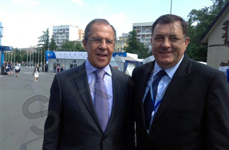DODIK, LAVROV TO TALK ABOUT BRITISH RESOLUTION & PIC MEETING ON JUNE 18