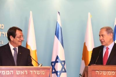 Netanyahu welcomes Anastasiades' initiative in relation to Israel and PA
