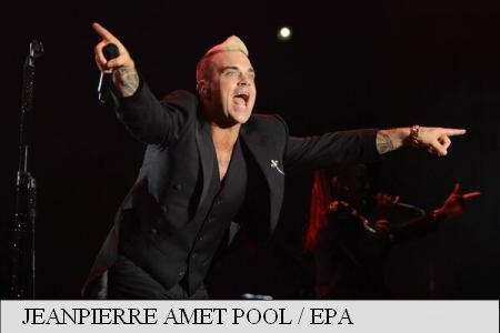 Bucharest's Constitution Square hosts Robbie Williams concert on Friday