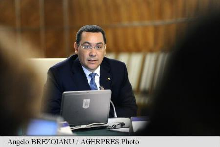 PM Ponta: This year's extra 13 bln lei budget collections also the effect of fiscal measures