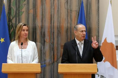 Mogherini calls on everybody to think of the cost of not reuniting Cyprus