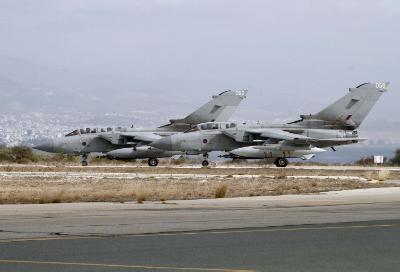 British Bases destroy detached missiles