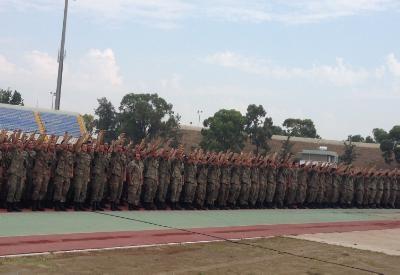New conscripts sworn in